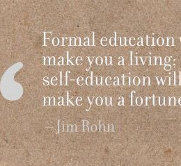 formal vs self education